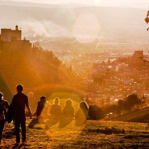 mejor atardecer mundo the best sunset in the world granada alternativa