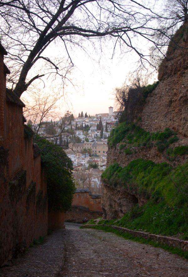 camino medieval Alhambra