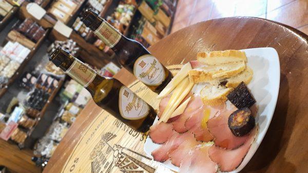 Cervezas y tapas
